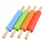 10cm Mini Non-stick Silicone Rolling Pin