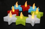 Pastel LED Star Tealight Candle
